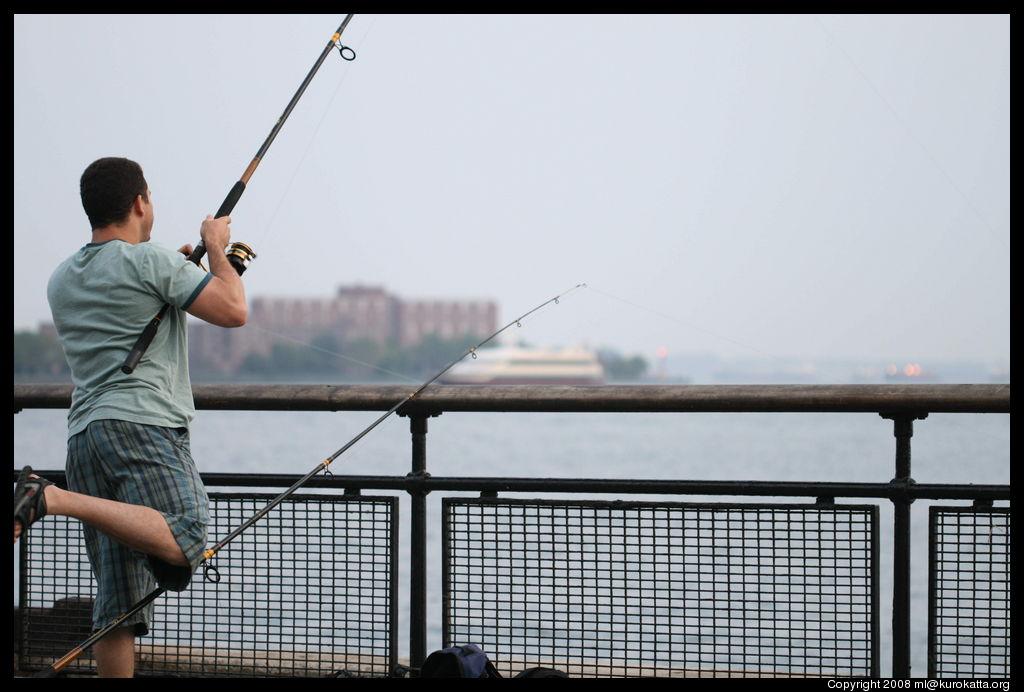 New york city june 2008 for Fishing in new york city