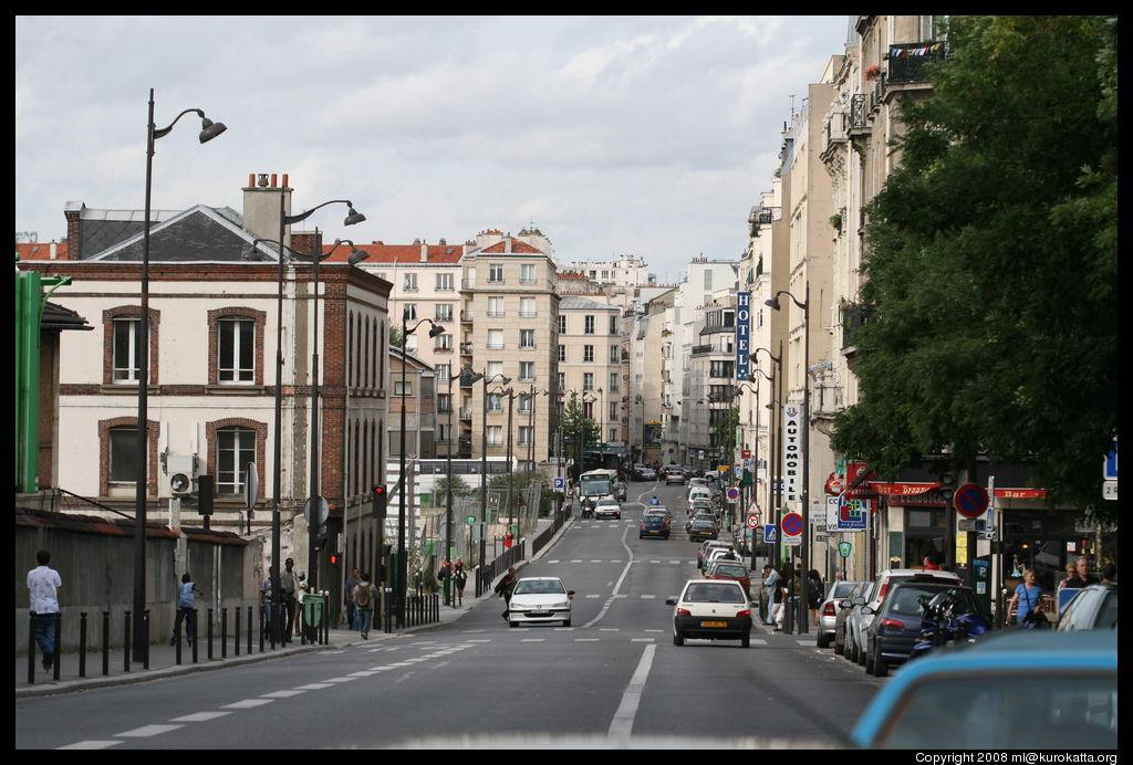 Paris: août 2008